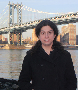 Blair Lorenzo at the Manhattan Bridge