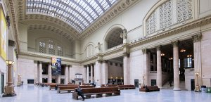 The main hall of Chicago's Union Station