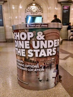 "Grand Central advertises itself as a place to ""Shop & Dine under the Stars"""