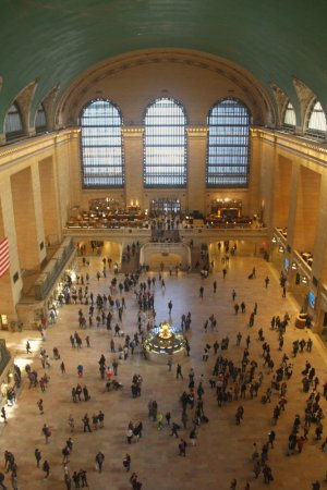 The Main Concourse at Grand Central