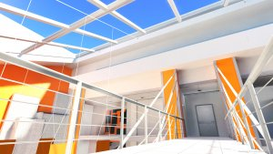 Screenshot from Mirror's Edge