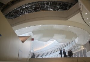 Looking from PATH into the Oculus